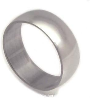 Stainless Steel Ultra Slim Band Ring