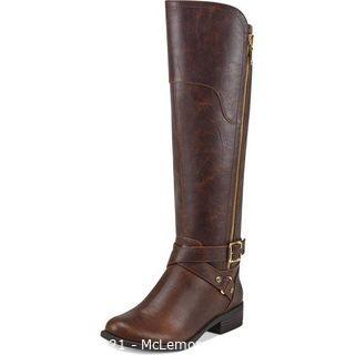 G by Guess Haydin Faux Leather Tall Riding Boots, 7