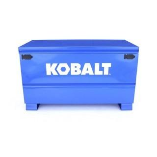 Kobalt 24-in W x 48-in L x 28-in Steel Jobsite Box - Cosmetic Scratches in Pictures