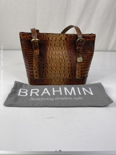Brahmin Asher Carnelian Melbourne Bag/Purse - NEW WITHOUT TAGS MSRP $259