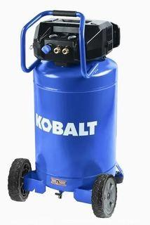 Kobalt 20-Gallon Single Stage Portable Corded Electric Vertical Air Compressor - Floor Model