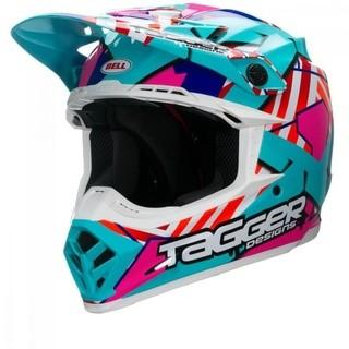BELL HELMETS PS MOTO-9 TAGGER TROUBLE - SIZE XLARGE, MSRP $250