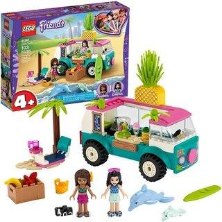 LEGO Friends Juice Truck LEGO Truck 41397 Building Kit; Kids Food Truck Featuring LEGO Friends Emma Mini-Doll Figure, New 2020 (103 Pieces)
