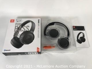 JBL TUNE 500BT - On-Ear Wireless Bluetooth Headphone - Black