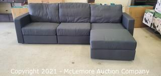 High-End Modern Modular Base Sectional - Changeable, Rearrangable & The Worlds Most Accomadatable Couch