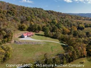2014 Custom Home on 110± Acres with Amazing Views From Wrap Around Porch with Cave - Offered for Sale at $1,250,000